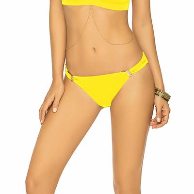 Maillot de bain culotte jaune Color Mix (Bas)