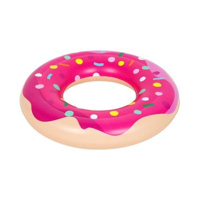 Bouée donut rose pour enfant