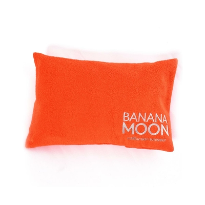 Coussin de plage orange Phil Pillowan
