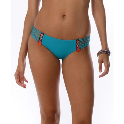 Maillot de bain culotte bleue Totem (Bas)