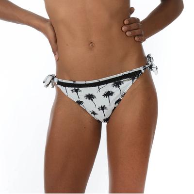 Teens - Maillot de bain culotte à noeuds noire et blanche Palma (Bas)