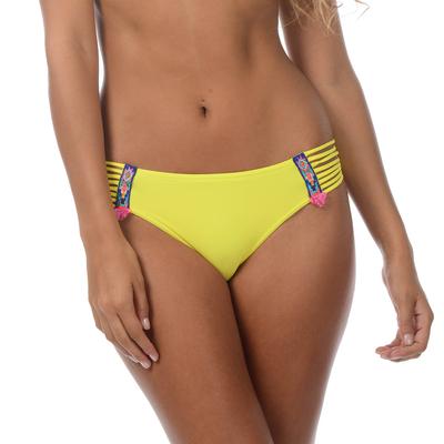 Bas de maillot de bain Totem jaune citron