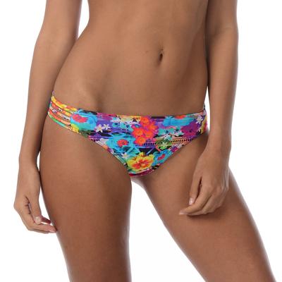 Maillot de bain culotte fleuri multicolore Mooney (bas)