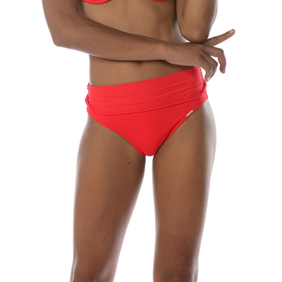 Maillot culotte taille haute rouge Hopa Spring (Bas)