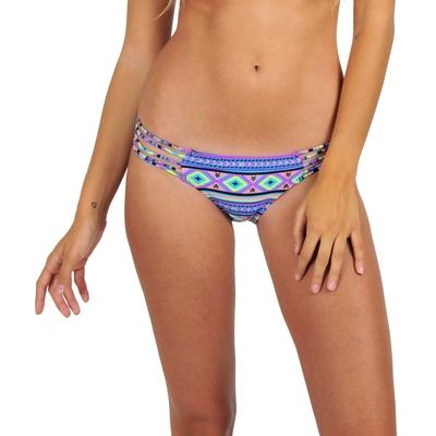 Mon Itsy Bikini Ethnique culotte multicolore (Bas)