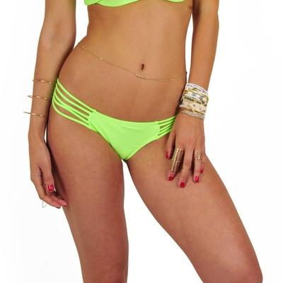 Ma culotte Itsy Bikini vert fluo (Bas)