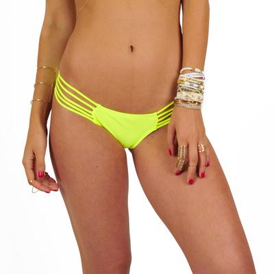 Ma culotte Itsy Bikini jaune fluo (Bas)
