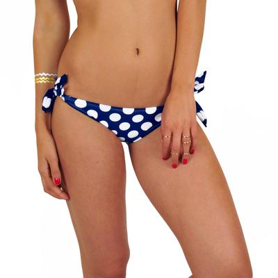 Ma culotte Weenie Bikini à pois bleu (Bas)