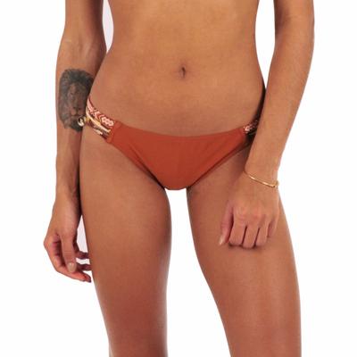 Maillot de bain culotte marron multi-liens MYSWIM (Bas)