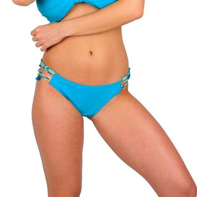 Maillot de bain culotte bleu turquoise Uniswim (Bas)