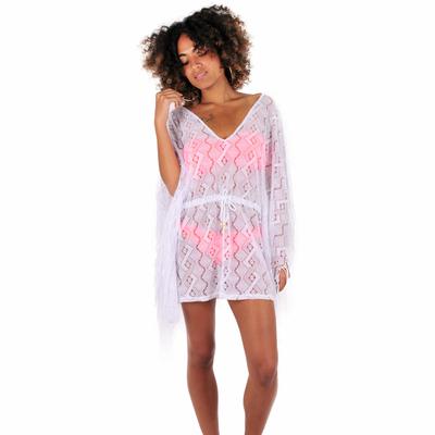 Robe de plage crochet blanche Beachwear