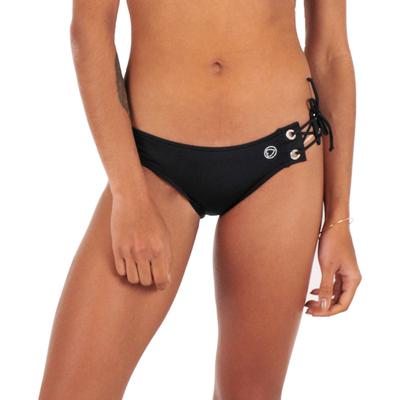 Maillot de bain culotte taille basse noire Maroni (Bas)