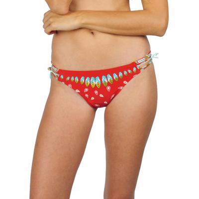 Maillot de bain culotte Bandy rouge (Bas)