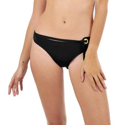 Maillot de bain culotte avec ceinture noir Abha (Bas)