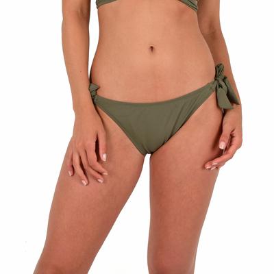 Mon Weenie Bikini culotte à noeuds vert kaki (Bas)