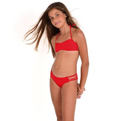 Mon Mini Teenie Bikini rouge fille