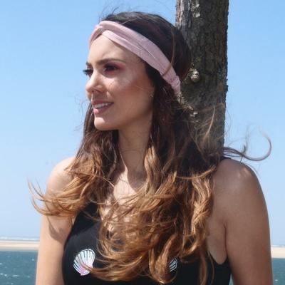 Headband rose poudré AdoptxMonpetitbikini