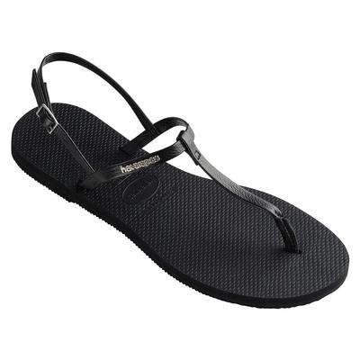 Sandales de plage You riviera noires