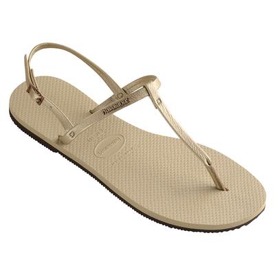 Sandales de plage You riviera beige gold