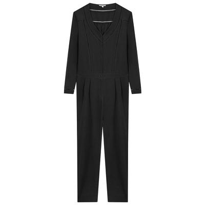 Combinaison pantalon noire Oxana