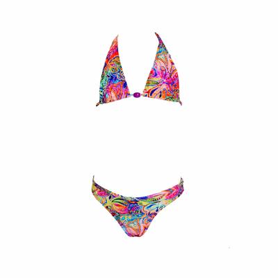 Maillot de bain 2 pièces triangle enfant multicolore Abigail