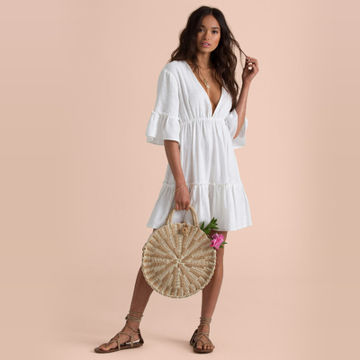 Robe courte blanche Lovers Wish Sincerely Jules