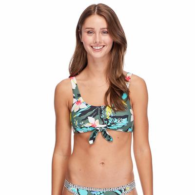 Haut de maillot de bain Brassière Multicolore Oahu