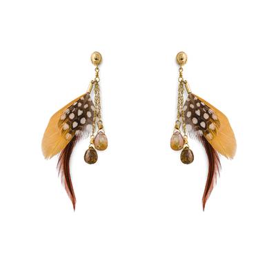 Boucles d'oreilles Doré Anita
