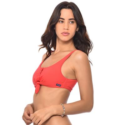 Haut de maillot de bain Brassière Orange corail Sunrib TEENS