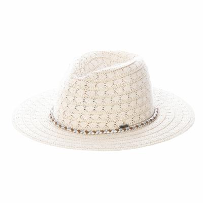 Chapeau de plage Blanc Avila Hatsy