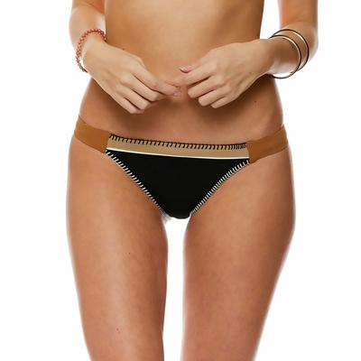 Bas de maillot de bain Culotte classique Noir Teknicolor
