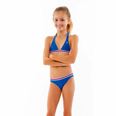 Maillot de bain enfant Triangle Bleu électrique Iconic KIDS