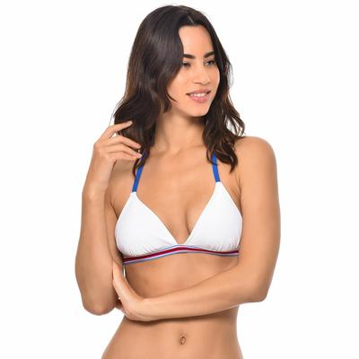 Haut de maillot de bain Triangle Blanc Iconic