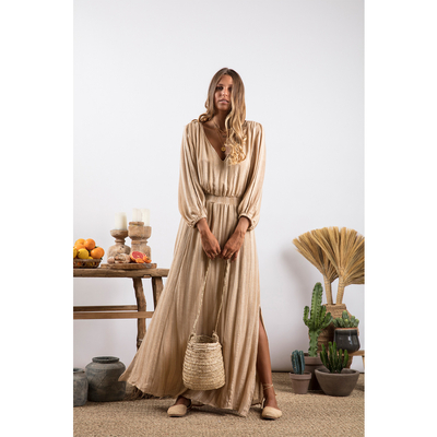 Robe Beige sable Lisbonne