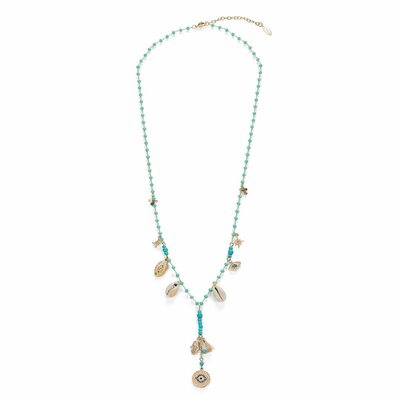 Collier Bleu turquoise Faith