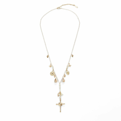 Collier Blanc Faith