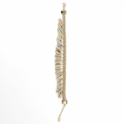 Bracelet de cheville Blanc Haka
