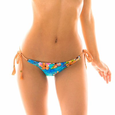 Bas de maillot de bain Culotte Multicolore Maxi flower