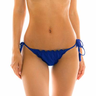 Bas de maillot de bain Tanga Bleu Marine Planet blue