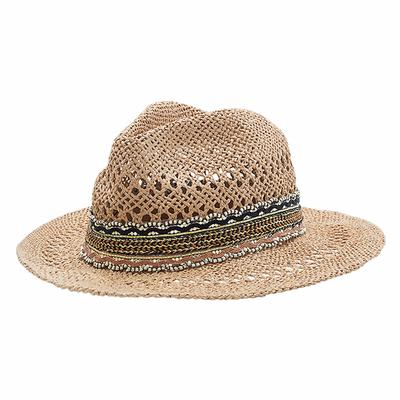 Chapeau de plage Beige Naturel Raphael