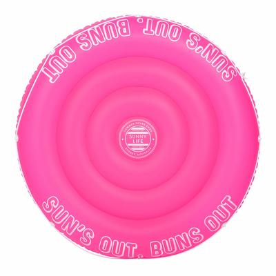 Bouée Ronde Rose Néon Pink