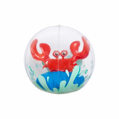 Ballon de plage gonflable Rouge Crabe