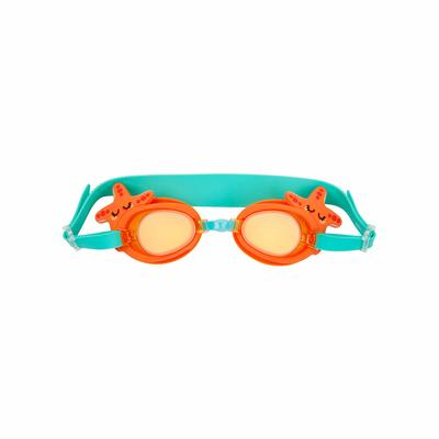 Lunettes de plongée enfant Orange Etoile de mer