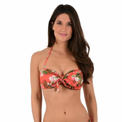 Haut de maillot de bain Bandeau Rose terracotta Sienna