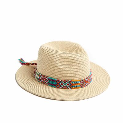 Chapeau de plage Orange Paolo Hatsy