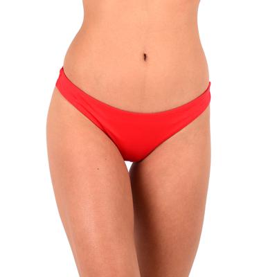 Bas de maillot de bain tanga rouge