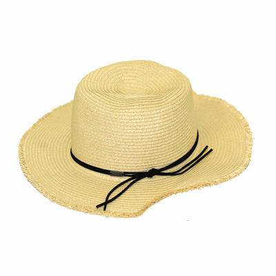 Chapeau de plage Beige Naturel Nils Hatsy