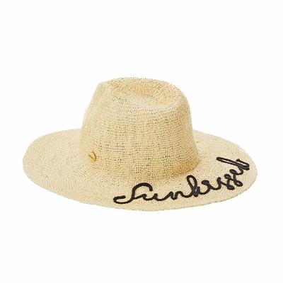 Chapeau de plage Beige Shady Lady