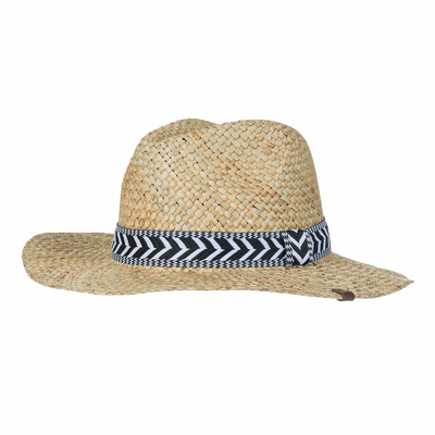 Chapeau de plage Beige Naturel Natural Straw