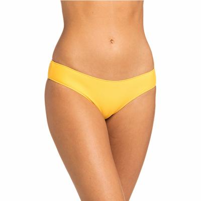 Bas de maillot de bain Culotte Jaune Safran Surf Essentials